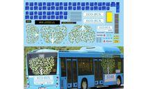 набор декалей МАЗ 203 эко-бус (голубой), фототравление, декали, краски, материалы, Doctor Decal, scale43