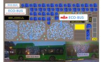 набор декалей МАЗ 203 эко-бус (зеленый), фототравление, декали, краски, материалы, Doctor Decal, 1:43, 1/43