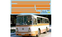 набор декалей Полосы ЛАЗ 695Н (оранжевый), фототравление, декали, краски, материалы, Doctor Decal, scale43