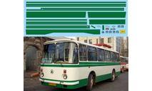 набор декалей Полосы ЛАЗ 695Н (зеленый), фототравление, декали, краски, материалы, Doctor Decal, scale43