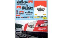 1:43 набор декалей Renault Magnum McLaren F1 Motorhome, фототравление, декали, краски, материалы, Doctor Decal, scale43