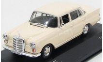 Mercedes-Benz 200 D (W110) 1965, 1 of 1008 pcs. (light beige), масштабная модель, WhiteBox, 1:43, 1/43