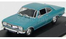 Opel Rekord B Coupe 1965 Metallic Turquoise, масштабная модель, WhiteBox, 1:43, 1/43
