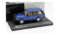 RANGE ROVER 3,5 (5 дверей) 1970 Metallic Blue, масштабная модель, WhiteBox, scale43