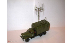 ЗиЛ-157 радиопеленгатор с антенной, масштабная модель, 1:43, 1/43, Alf