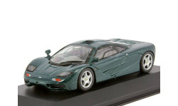 McLaren F1 road car 1993 british racing green 1/43 MINICHAMPS 530133430, масштабная модель, scale43