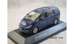 TOYOTA ESTIMA 1/43 J-Collection