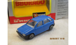 FIAT Tipo Rally 1/43 Bburago Made in Italy