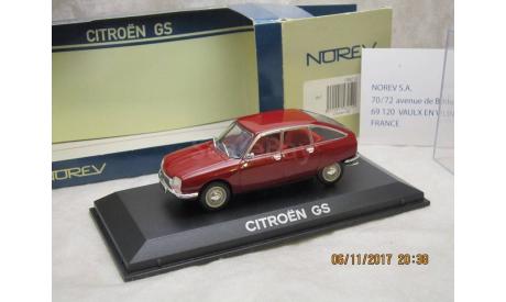 Citroen GS 1/43 Norev, масштабная модель, Citroën, 1:43