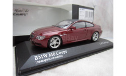 BMW M6 Coupe 1/43 Minichamps
