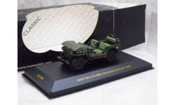 Jeep Willys MB-Liberation de Paris 1944 1/43 IXO