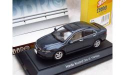 Honda Accord CL7 1/43 Ebbro, масштабная модель, 1:43