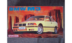 BMW M3 (E36) 1/24 Dragon, сборная модель автомобиля, 1:24