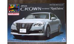Toyota Crown Hybrid Royal Saloon AWS210 1/24 AOSHIMA PRE-PAINTED, сборная модель автомобиля, scale24