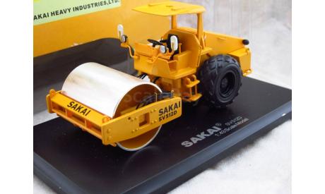 Грунтовый каток Sakai SV512D 1/43 дилерский, масштабная модель, 1:43