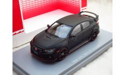 Honda CIVIC TYPE R 2017 Prototype 1/43 EBBRO, масштабная модель, 1:43