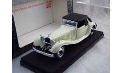 Bugatti 41 Royale Open 1927 1/43 RIO Models Made in Italy