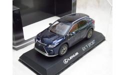 Lexus RX F Sport 1/43 Kyosho дилерский, масштабная модель, 1:43