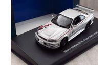 Nissan Skyline GT-R Z-Tune 2001 (R34) 1/43 AutoArt, масштабная модель, 1:43