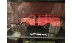 Ацуп-20(63) -60 на шасси газ 63, масштабная модель, DiP Models, scale43