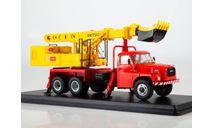 Экскаватор-планировщик UDS-110 (на шасси Tatra-148), сборная модель автомобиля, Start Scale Models (SSM), scale43