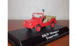 Munga DKW (пожарный) 1:43, масштабная модель, Starline, 1/43