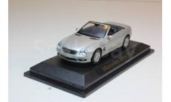 MERCEDES BENZ SL55 серебро 1:43. Производитель: Yat Ming, масштабная модель, 1/43, Mercedes-Benz