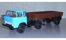 КАЗ-608+ОДАЗ-885АИСТ, масштабная модель, 1:43, 1/43