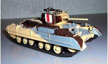 TANK MK. III VALENTINE, масштабные модели бронетехники, Chars de Combat, scale43