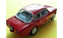 1/43 Alfa Romeo Giulia Sprint 1600 GTA 1965 Edicola, масштабная модель, 1:43
