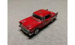 1/43 Chevrolet Belair Fire Chief 1957 Franklin Mint RAR, масштабная модель, 1:43