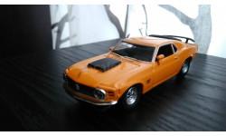 1/43 Ford mustang boss  1970 Matchbox, масштабная модель, 1:43