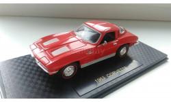 1/43 Chevrolet Corvette Stingray 1963 Road champs, масштабная модель, 1:43