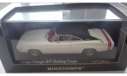 1/43 Dodge Charger 1968 Minichamps White RAR