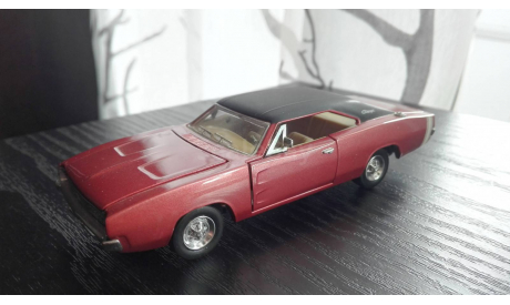 1/43 Dodge Charger 1969 Franklin Mint, масштабная модель, scale43, Ford
