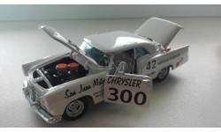 1/43 CHRYSLER 300 Stock Car LEE PETTY #42 1956 Team Caliber, масштабная модель, 1:43