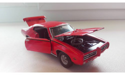 1:43 Pontiac GTO Judge 1969 Franklin Mint New, масштабная модель, Road champs, 1/43