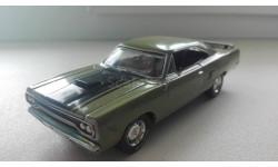 1/43 Plymouth Road Runner 1970 Matchbox, масштабная модель, 1:43