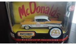 1/43 Chevrolet Belair Hardtop McDonald's 1957 Matchbox, масштабная модель, 1:43