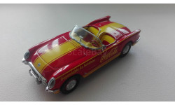 1/43 Chevrolet Corvette Coca Cola 1953 Matchbox collectibles, масштабная модель, 1:43