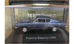 1/43 Plymouth Barracuda 1968 Ixo Мексиканская серия RAR., масштабная модель, scale43
