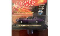 1/43 Plymouth GTX 440 1971 Purple Johnny Lightning, масштабная модель, 1:43