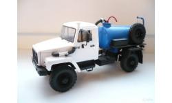 Газ 3308 Ко503 Ассенизаторская машина, масштабная модель, 1:43, 1/43, Ручная работа