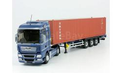 Ман Eligor с полуприцепом контейнеровозом Тритон