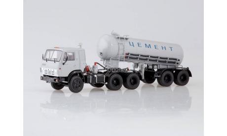 Камаз SSM Цемент, масштабная модель, 1:43, 1/43