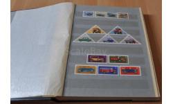Альбом с почтовыми марками (340) Автомобили отечественные и зарубежные. Возможен обмен на литературу, проспекты, литература по моделизму