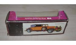 Коробка 1930 Packard Victoria Возможен обмен на книги, проспекты, масштабная модель, Matchbox, 1:50, 1/50