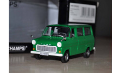 Ford Transit 1974 Bus Green 400 082411 Возможен обмен на книги, проспекты, масштабная модель, Minichamps, 1:43, 1/43