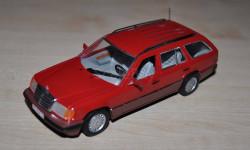 Mercedes Benz W124 Возможен обмен на книги, проспекты, масштабная модель, Mercedes-Benz, Minichamps, 1:43, 1/43