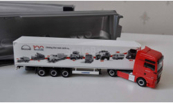 MAN TGX 100 Years Truck & Bus Herpa Возможен обмен на литературу, проспекты, масштабная модель, 1:87, 1/87